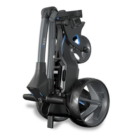 M5 GPS Electric Trolley Folded