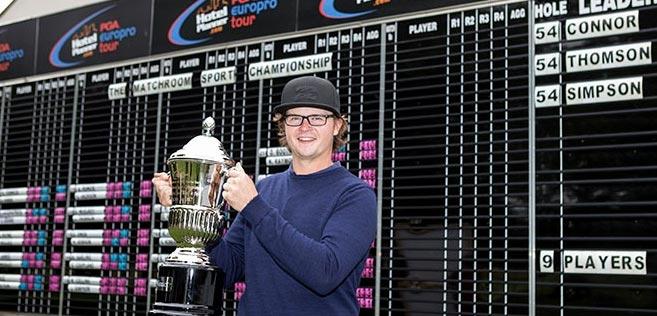 Connor wins Matchroom Sport Championship