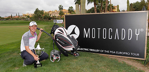 PGA Europro Tour winner