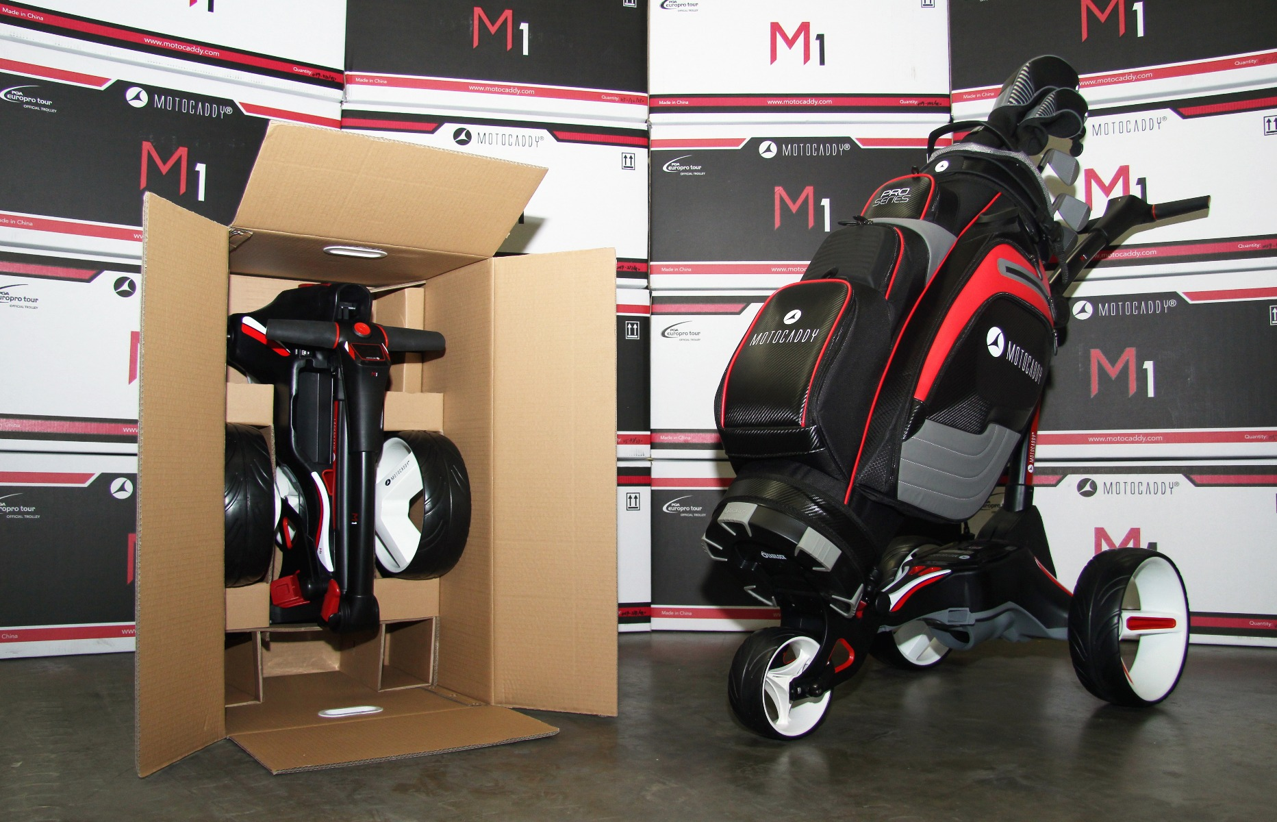 M1 Electric Trolley Environmental Packaging