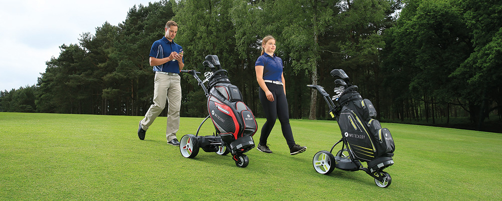 Motocaddy marks decade of DHC technology